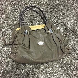 D&g taupe handbag